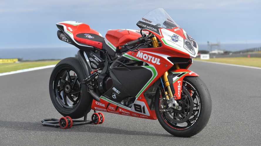 MV Agusta CEO Announces Five Year Plan For F4 Superbike