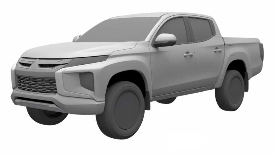 Nova Mitsubishi L200 Triton aparece em registro no Brasil