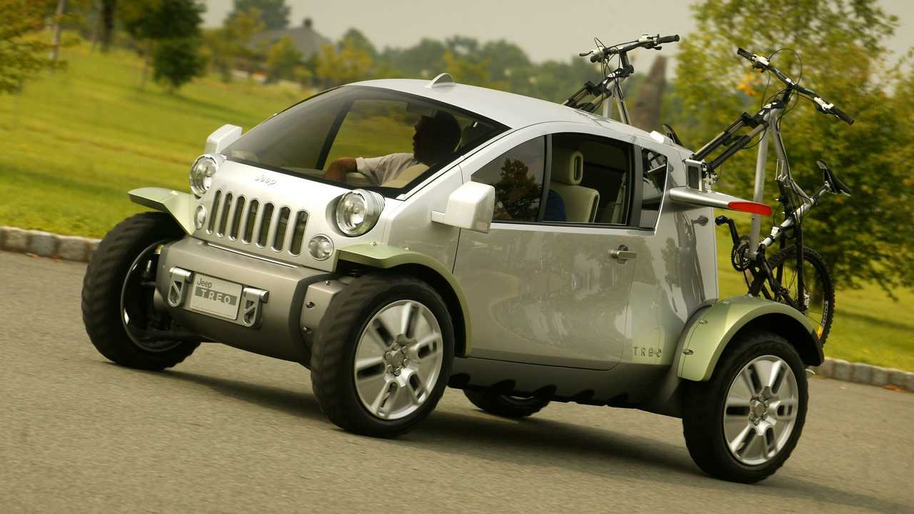 Концепция Jeep Treo 2003 года