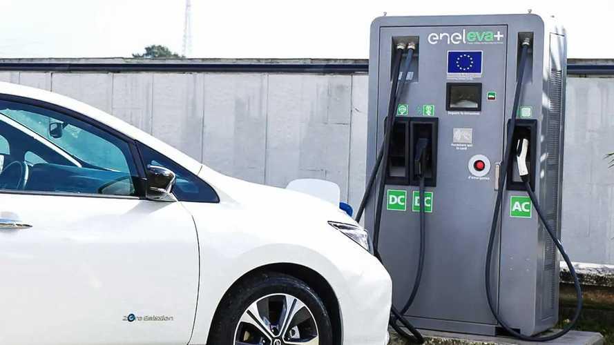 Operative 130 stazioni di ricarica Fast Recharge di Enel