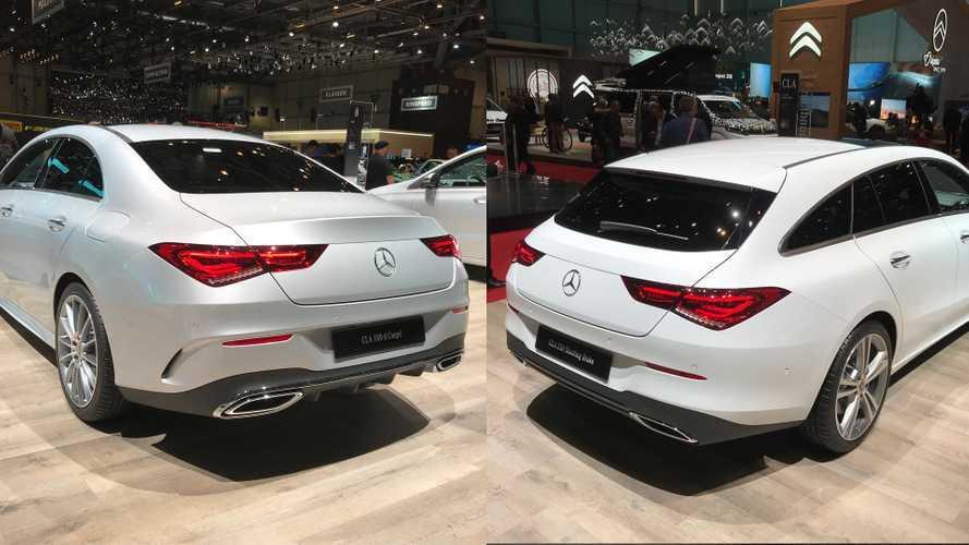 Mercedes CLA, coupé o con la coda? Eccole al Salone di Ginevra