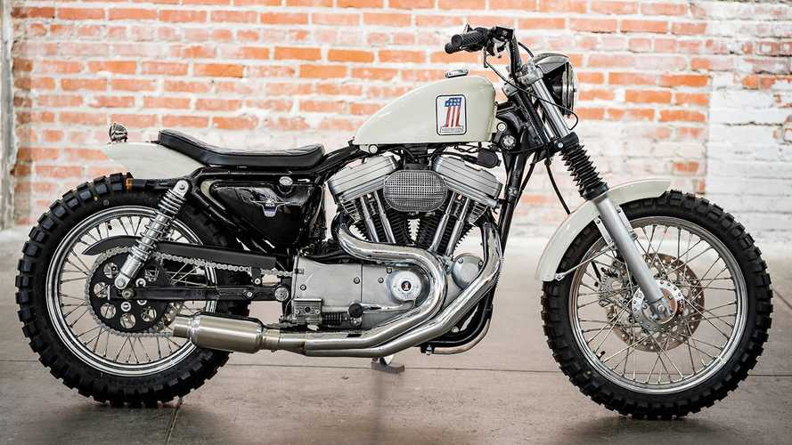 Greg Hageman Made A '95 Sportster Into A Street Tracker