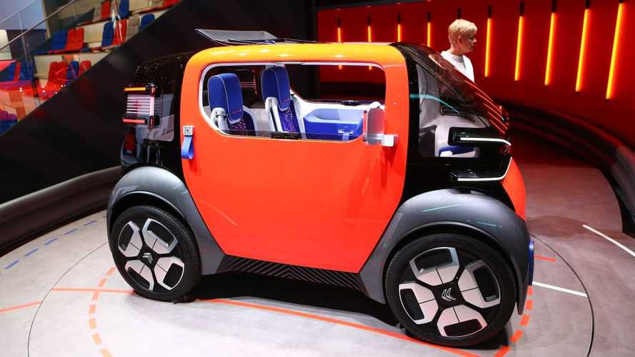 Citroen Ami One Concept, il car sharing per i 14enni