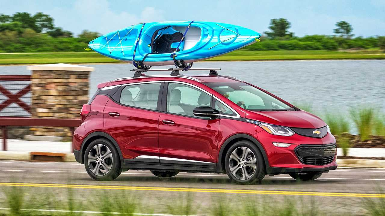 Chevy Bolt With Kayak
