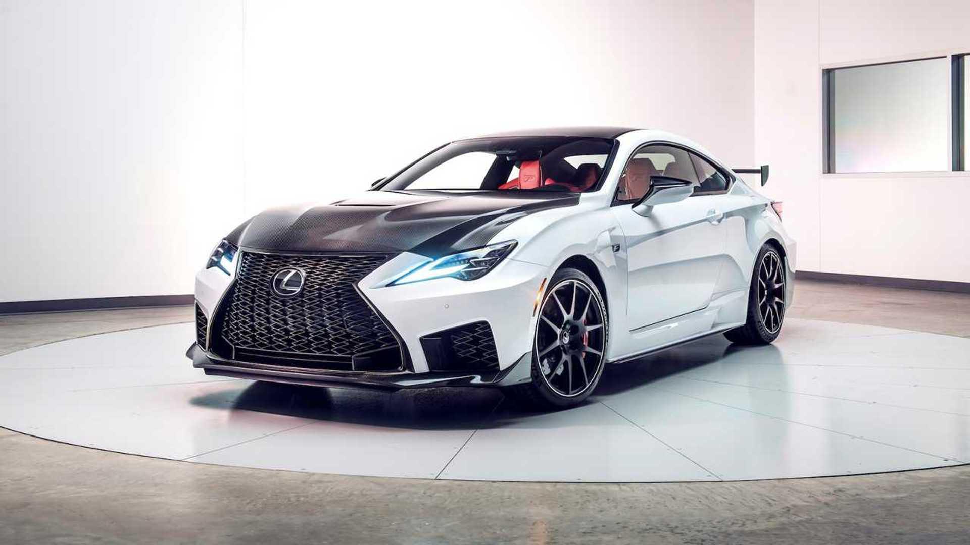 Lexus RC Facelift (2018) 48
