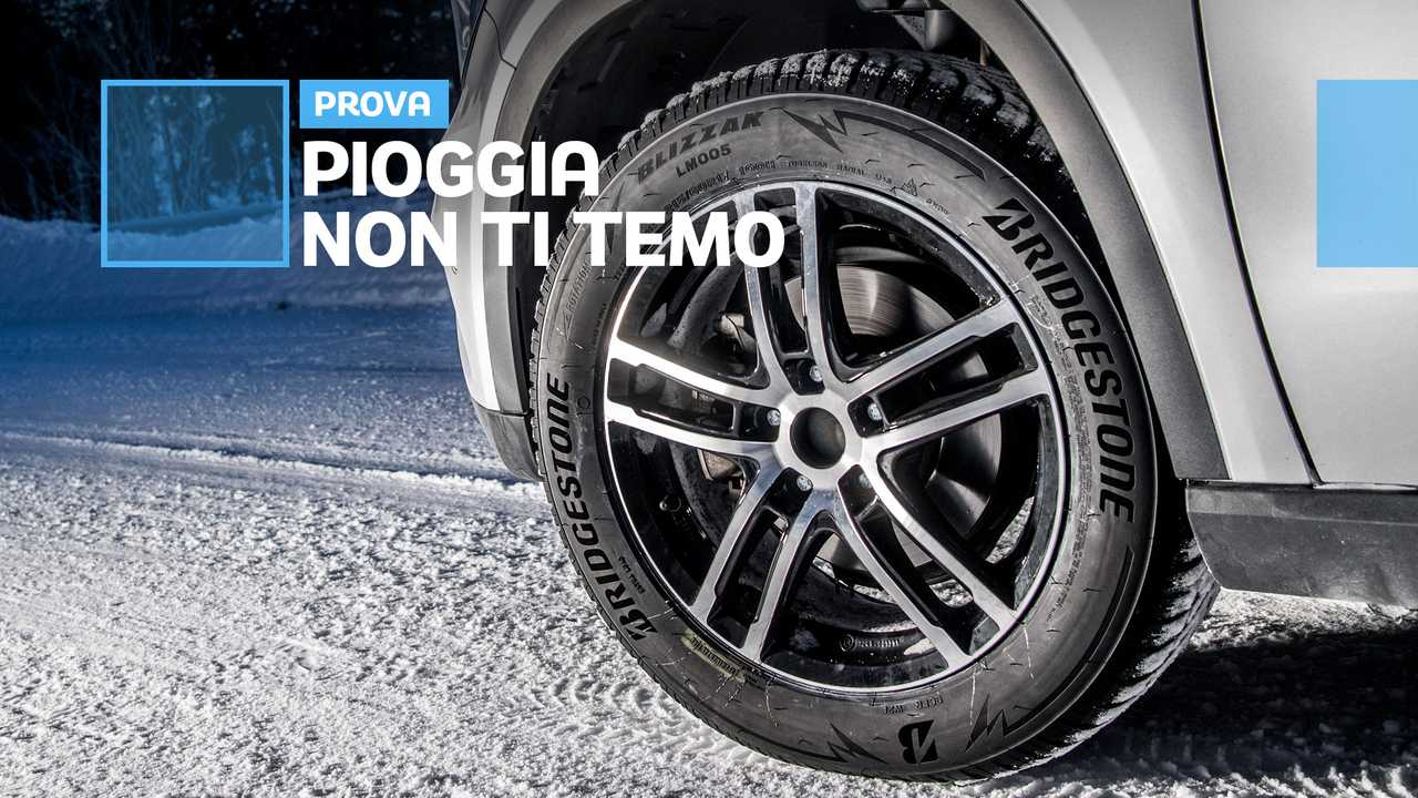 Copertina Bridgestone Blizzak LM005: pneumatici invernali pensati per la pioggia
