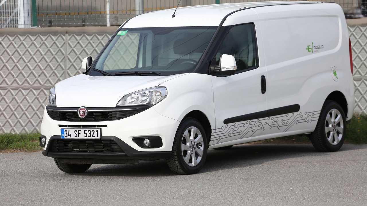Elektrikli Fiat Doblo Cargo