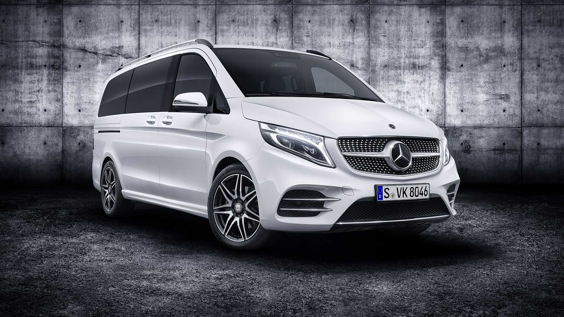 Mercedes V Class >> 2019 Mercedes V Class Debuts Refresh With New Engine Tech