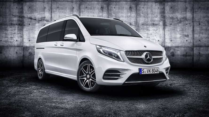 2019 Mercedes V-Class Debuts Refresh With New Engine, Tech
