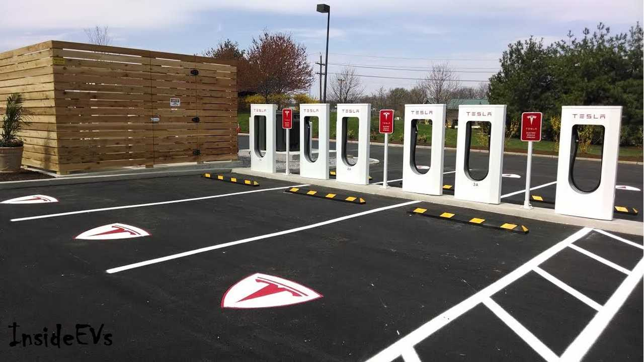 Tesla Reported Earnings From Q1 2014 Today - During Which The 100th Supercharging Station Was Opened (shown above)
