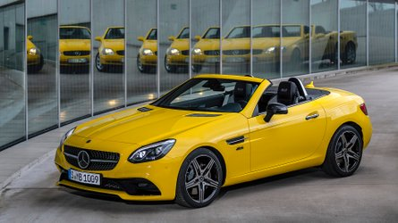 Mercedes SLC Final Edition debuts as roadster's colourful finale