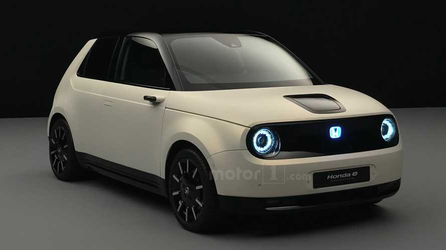 All-electric Honda e runabout ready for UK debut at Goodwood