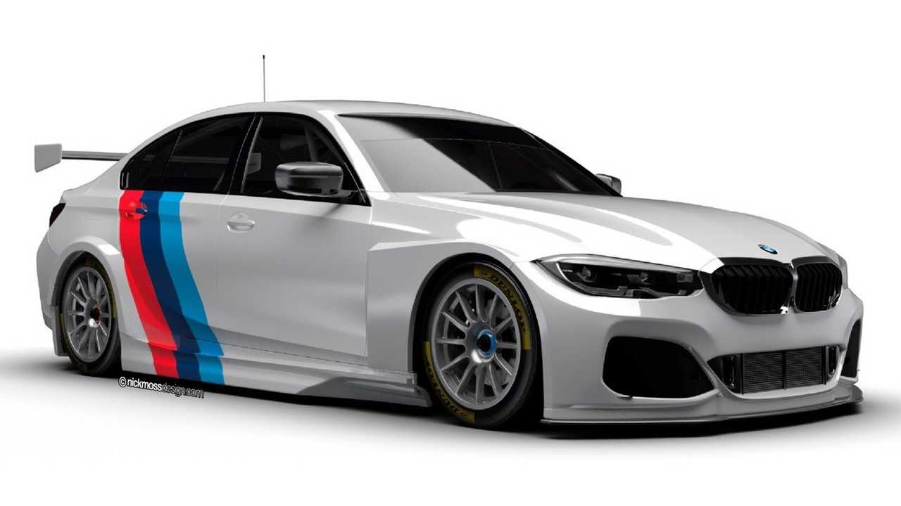 BMW 3 Series BTCC rendering 2019
