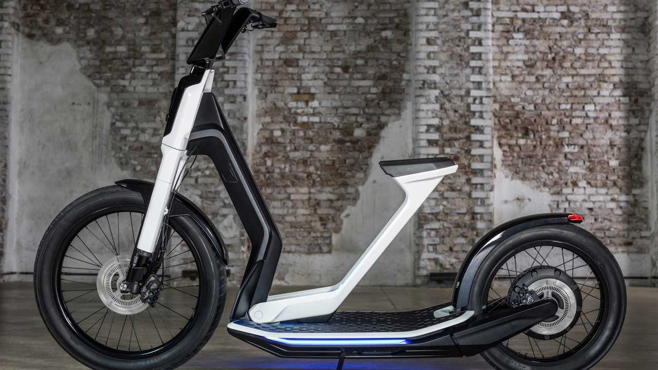 Volkswagen Streetmate And Cityskater Scoot Into Geneva