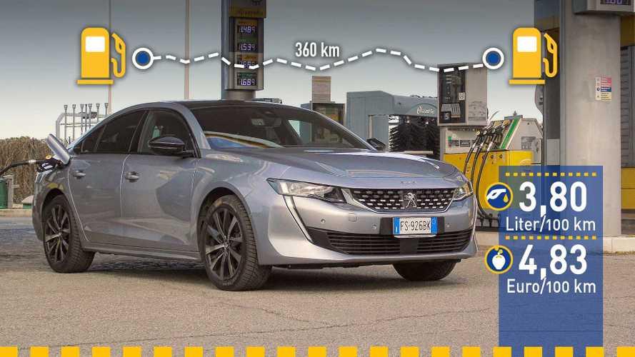 Tatsächlicher Verbrauch: Peugeot 508 1.5 BlueHDi im Test