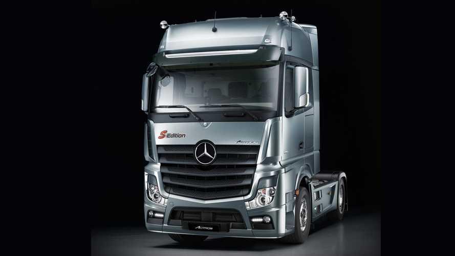 Mercedes Benz Actros F-Edition e S-Edition
