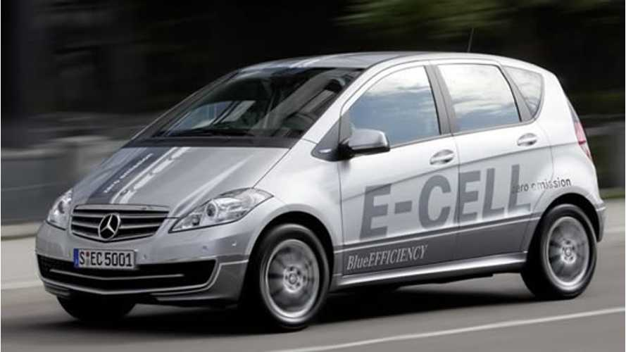 Report:  Mercedes To Produce B Class E-Cell, Powered By Tesla