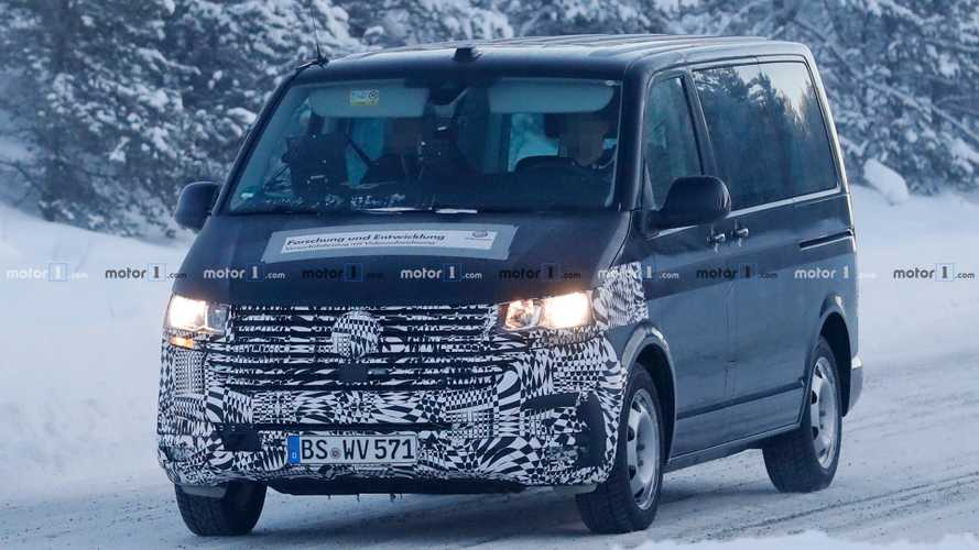 VW Transporter Facelift Spied With Bigger Grille