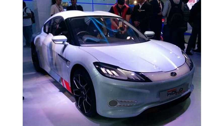 Mahindra & Mahindra Unveil Halo Electric Sports Car