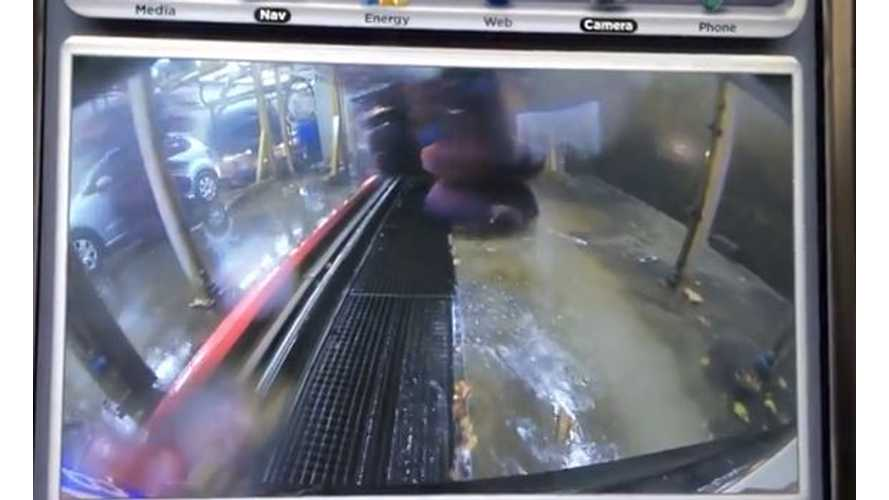 Video: Tesla Model S Passes Car Wash Test