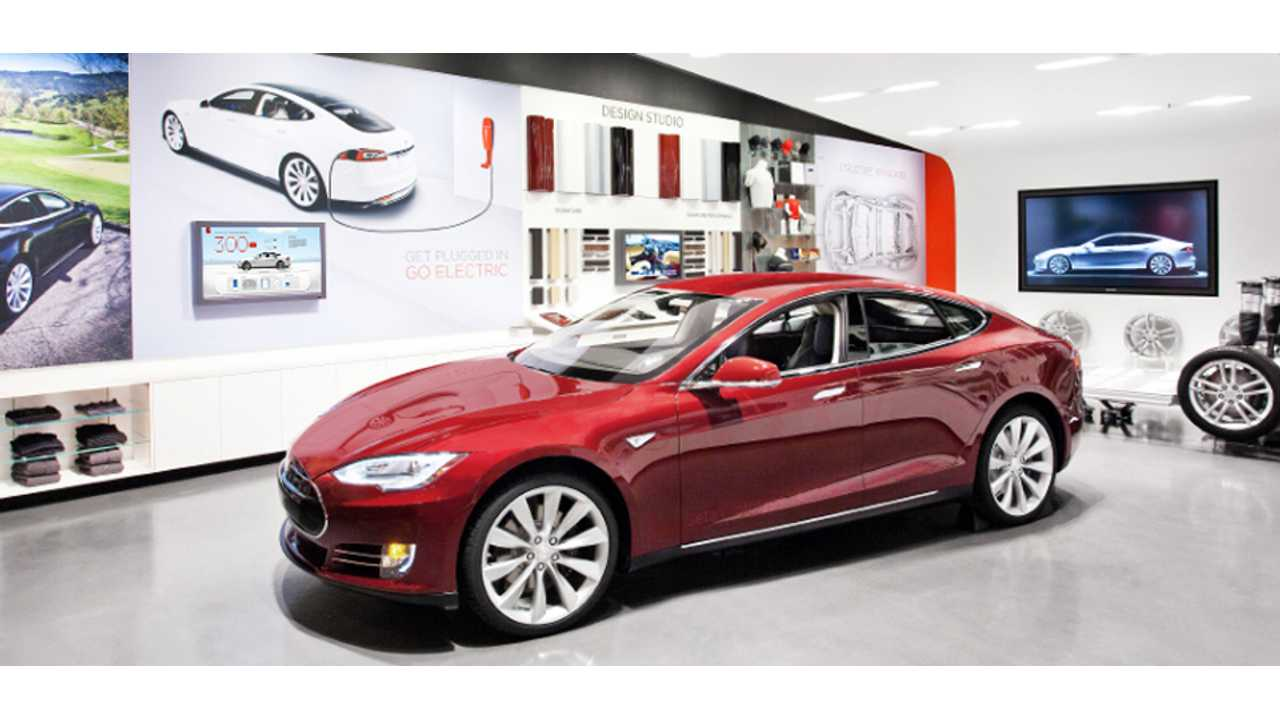 Tesla Opens New Showroom And Service Department In Highland Park, Illinois