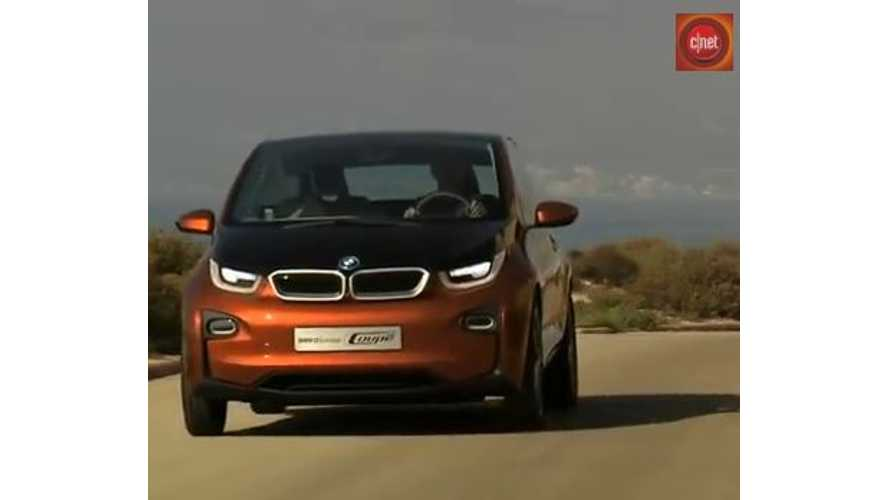 Video: CNET On Cars - BMW i3 First Drive Review