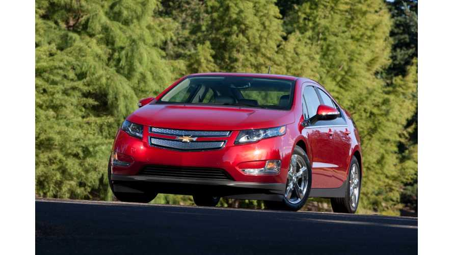 2014 Chevy Volt Priced at $36,895 in Canada
