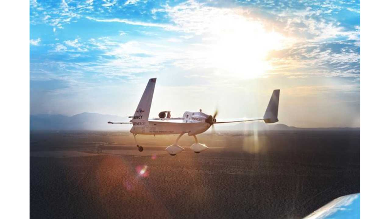 Chip Yates Adds 3 More Electric Airplane Records to Portfolio