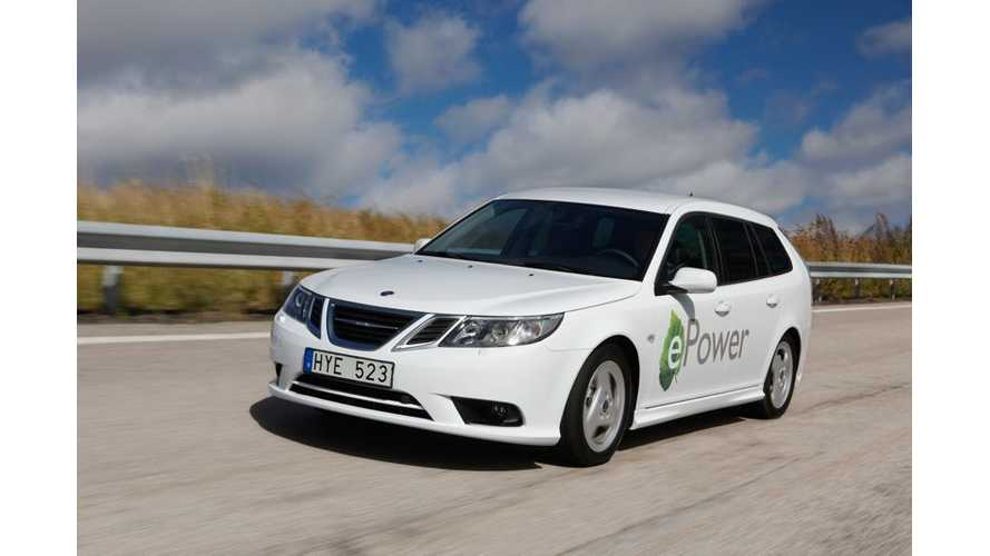 Saab Restarts Production; Pure Electric Version of 9-3 Coming in 2015