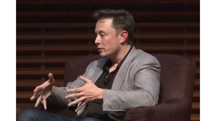 Video: 36th Annual Stanford ENCORE Award Goes to Tesla Motors; Elon Musk Speaks For 45 Minutes