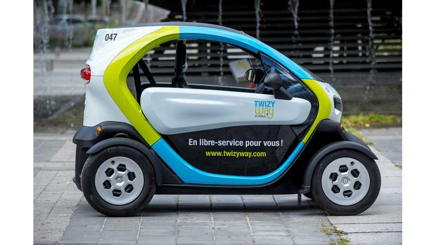 Renault Will Transfer Twizy Way Car-Sharing Service To KEYMOOV