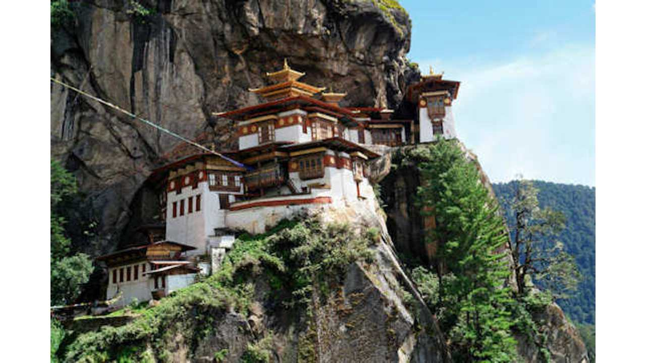 Bhutan Teams Up With Electric Vehicle Makers Nissan And Tesla For A Greener Future