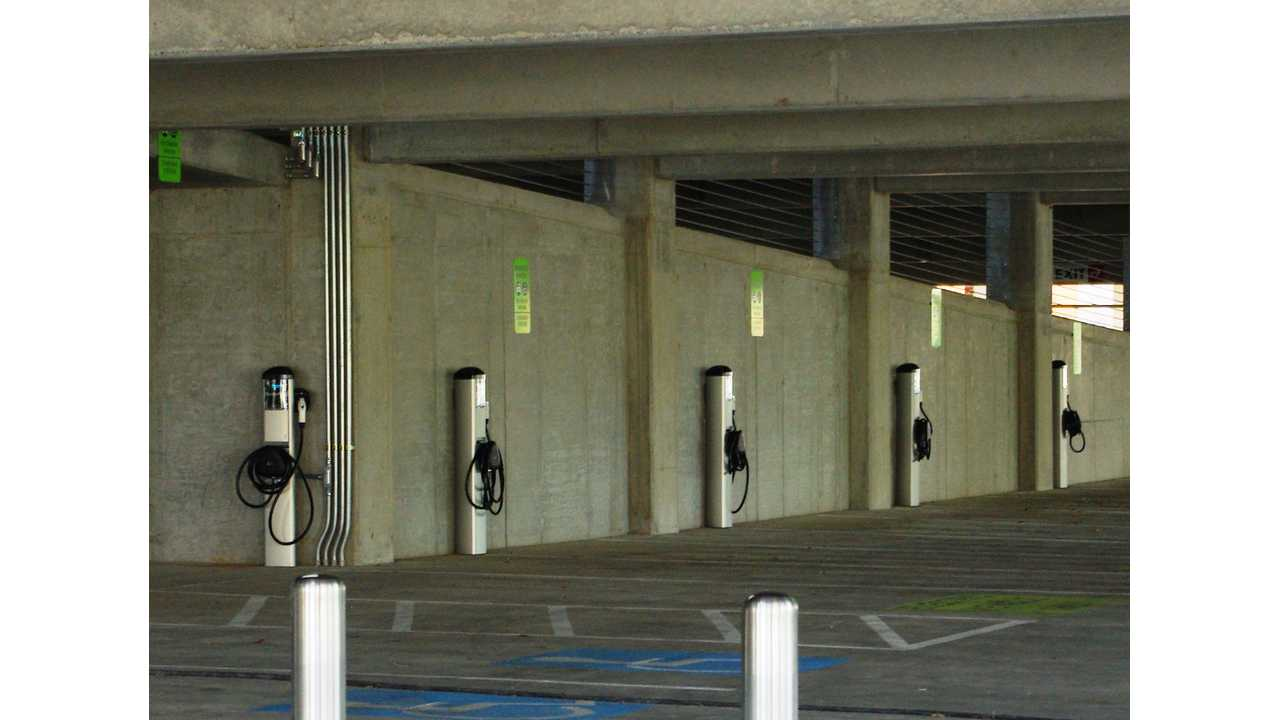 By California Code, New Parking Structure Gets 75 Clean Air Vehicle Parking Spaces and 40 Charging Stations