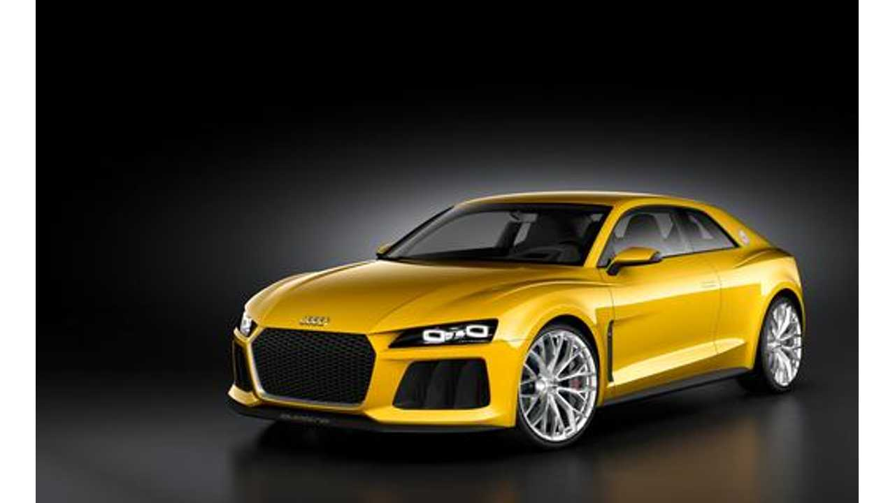 Audi Sport Quattro Plug-In Hybrid Concept Really Headed For Production? We Doubt It