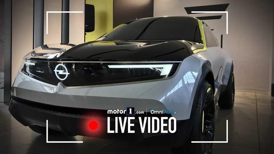 GT X Experimental Concept, il futuro di Opel inizia da qui
