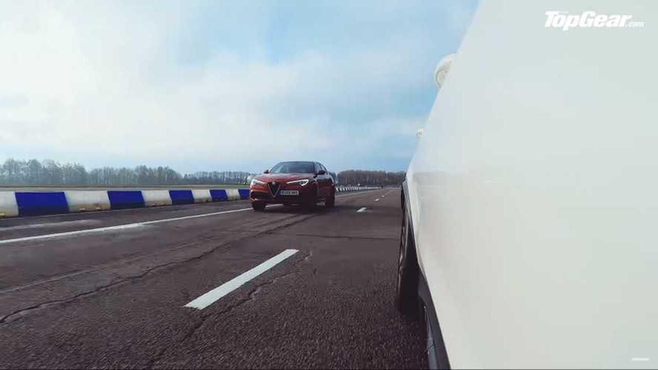 Mercedes-AMG GLC 63 Vs Alfa Romeo Stelvio Quadrifoglio