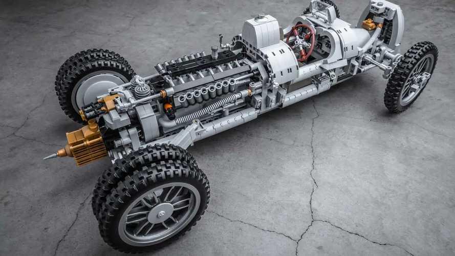 Lego Auto Union Race Car