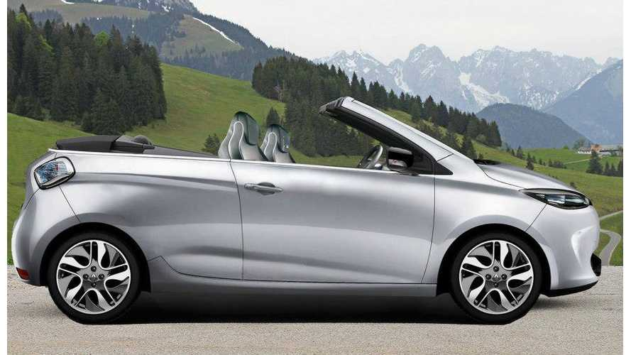 "Renault Asks ""Would You Like A Zoe Convertible?""  Mais Oui!"