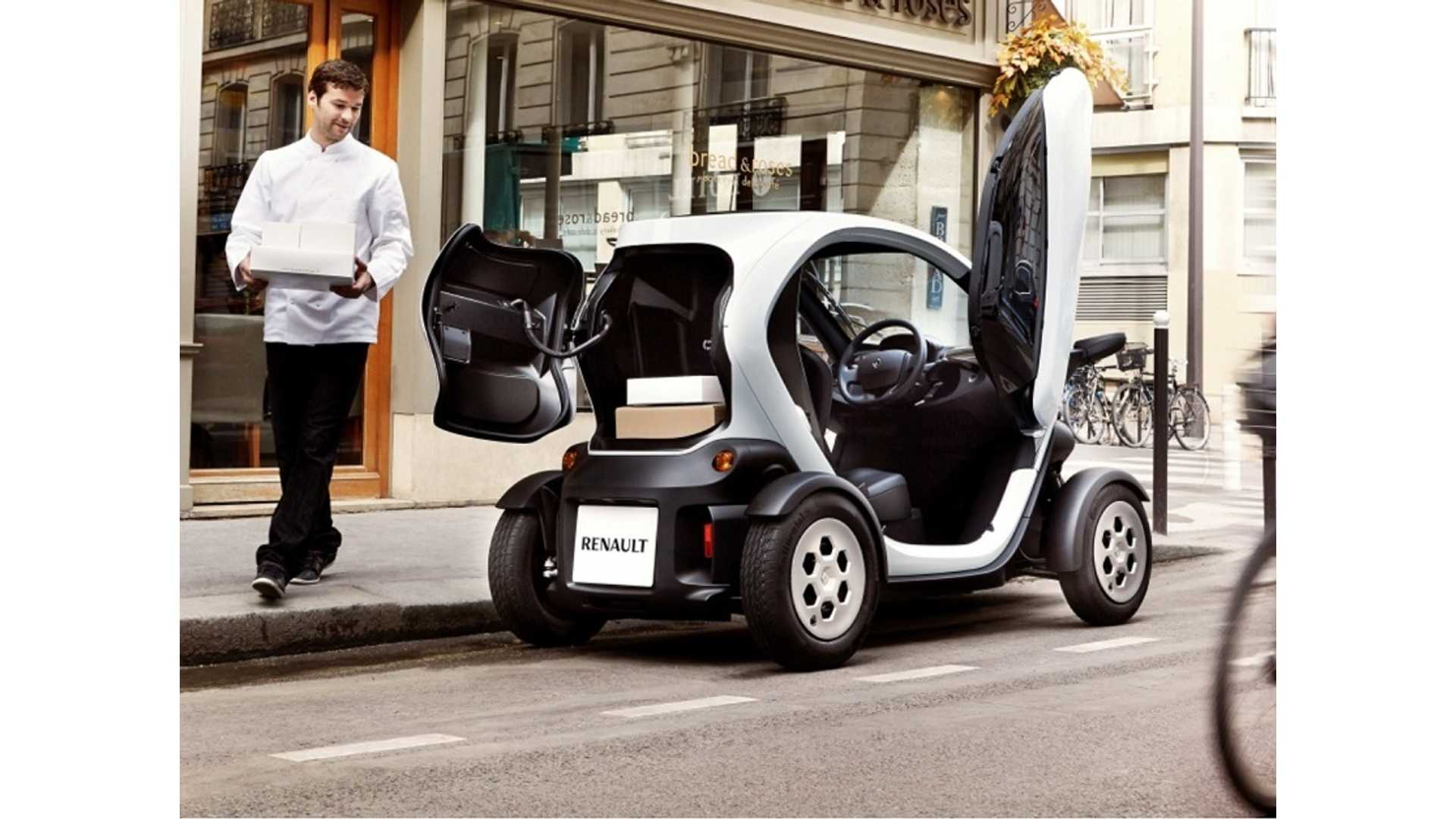 Video Renault Twizy Cargo Edition Lose A Passenger Gain A Boot Insideevs Photos