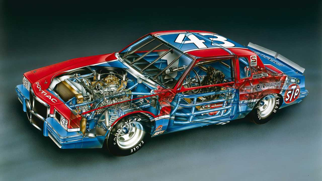 Richard Petty NASCAR 1982 Pontiac Grand Prix