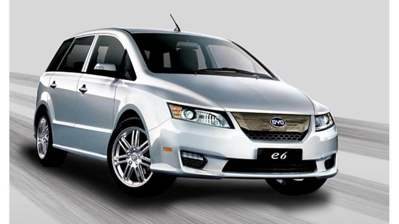BYD Aims to Quadruple Plug-In Vehicles Sales in 2013