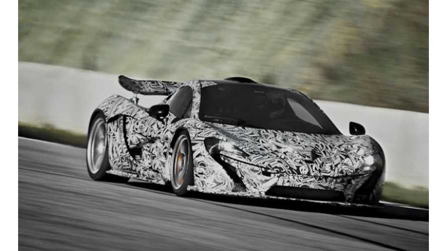 Video: Plug-In Hybrid McLaren P1 Circles Top Gear Track