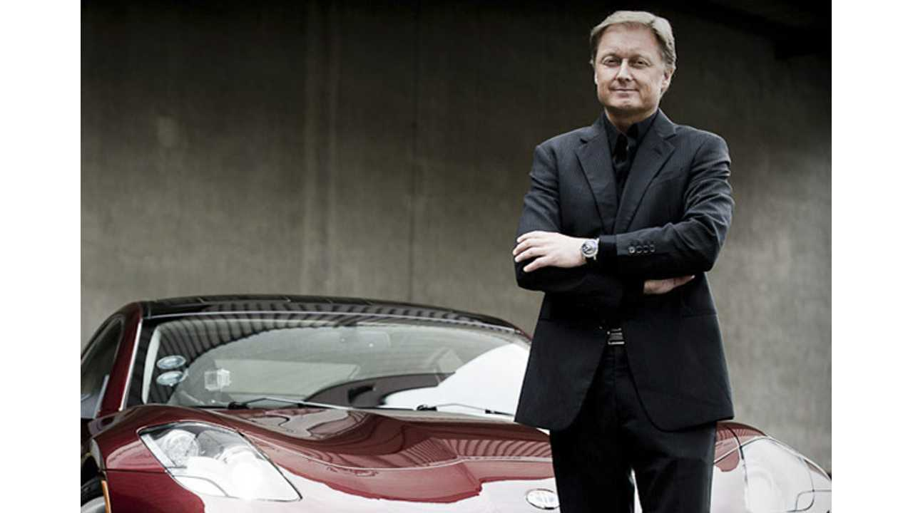 Breaking:  Henrik Fisker Quits His Namesake, Fisker Automotive (UPDATE)