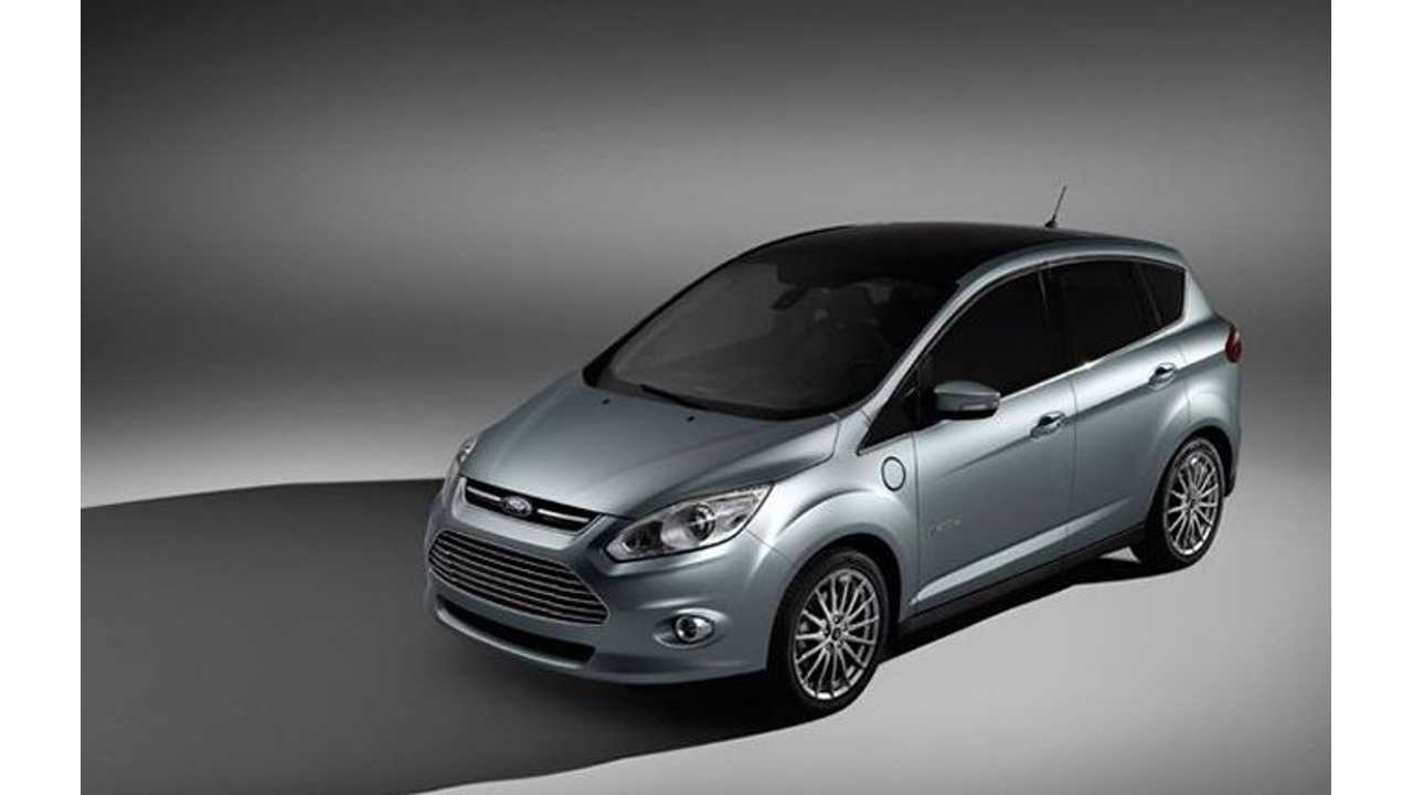 Ford C-Max Energi is Only Plug-In Selected as Canadian Green Car Award Finalist