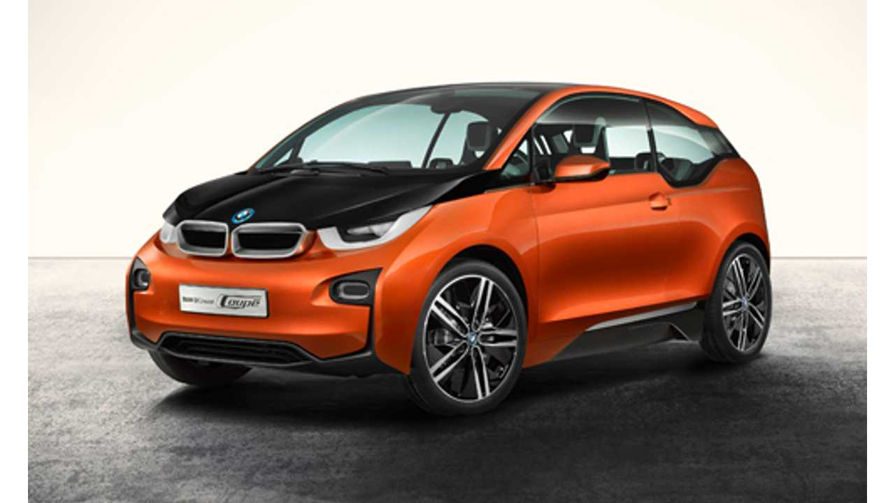 Bmw I3 Concept Coupe Don T Deep Discharge Me