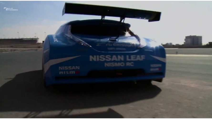 Rob Llewellyn Takes A Spin In The Nissan LEAF Nismo RC (w/video)