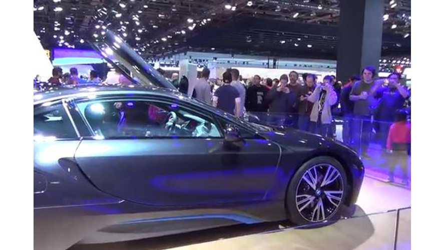 Video: 2014 Detroit Auto Show - Plug-In Vehicle Highlights + Tesla Booth