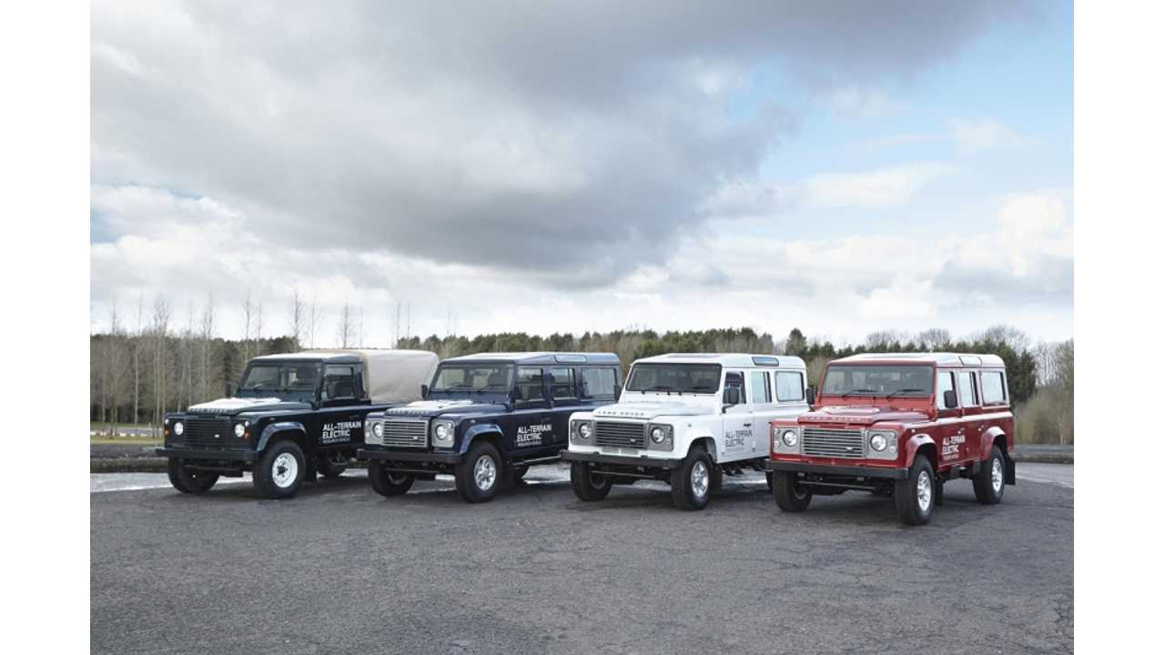 Electric Land Rover Defender Featured In Fully Charged