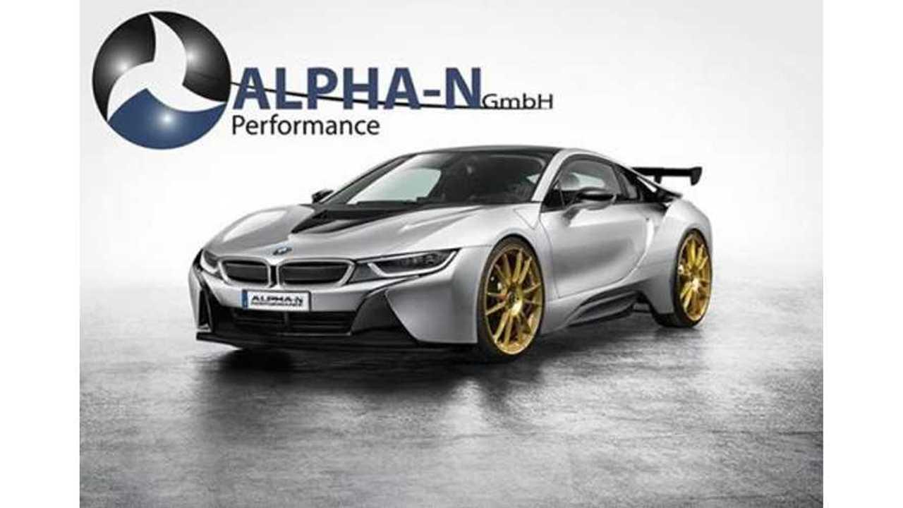 Alpha-N Performance Modifies a BMW i8
