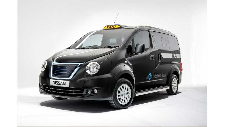 Nissan Unveils e-NV200 London Taxi Concept That Will Launch in 2015 (w/video)